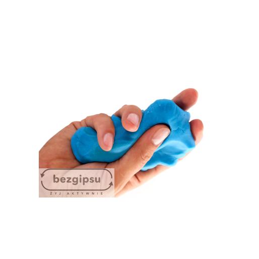Masa plastyczna do ćwiczeń dłoni rehabilitacji ręki BezGipsu.pl