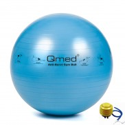 Piłka rehabilitacyjna z systemem ABS i pompką 75 cm