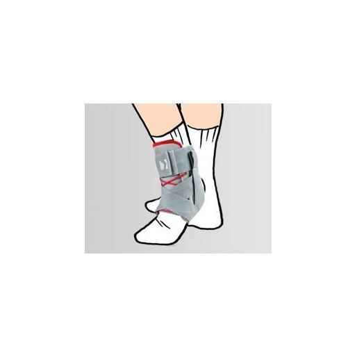 Dziecięca sznurowana orteza stawu skokowego obejmująca GOLEŃ I STOPĘ z bocznym wzmocnieniem