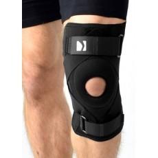 Orteza kolana z bocznymi fiszbinami i pierścieniem stabilizującym rzepkę