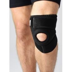 Krótki, uniwersalny stabilizator kolana z pierścieniem rzepki