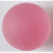 Piłeczka żelowa do rehabilitacji - różowa