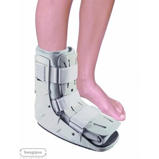 But ortopedyczny, krótki, pompowany WALKER orteza stopowo-goleniowa sklep medyczny BezGipsu.pl
